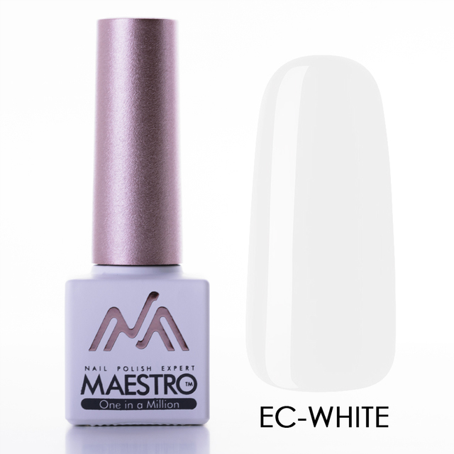Gel lak maestro white belyy 7 5ml 10139 large thumb